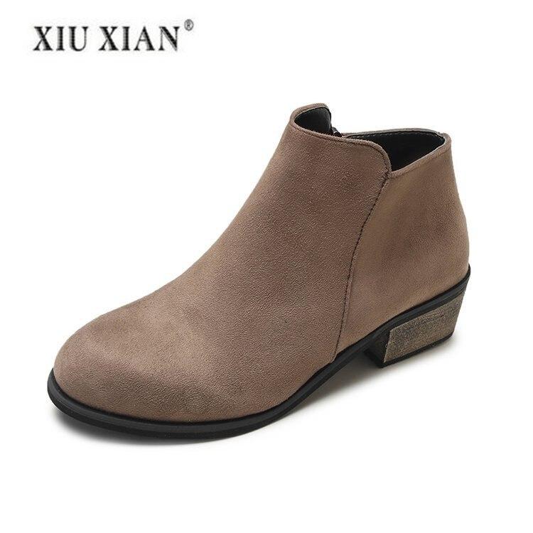 2018 Winter Fashion Black Women Comfortable Shoe For Women Woman For Shoe Woman Shoes Comfortable Shoes Ladies Brown Ladies