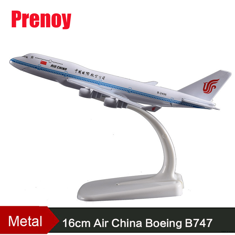 16cm Air China Boeing B747 Airplane Model China B747 Alloy Aircraft Model B-2456 Airways Chinese Airbus Plane Model Travel Gifts