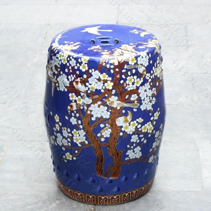 Aliexpress.com  Buy China plum blossom painting ceramic drum porcelain garden stool Glazed ceramic ceramic chinese ceramic stool from Reliable garden stool ... & Aliexpress.com : Buy China plum blossom painting ceramic drum ... islam-shia.org