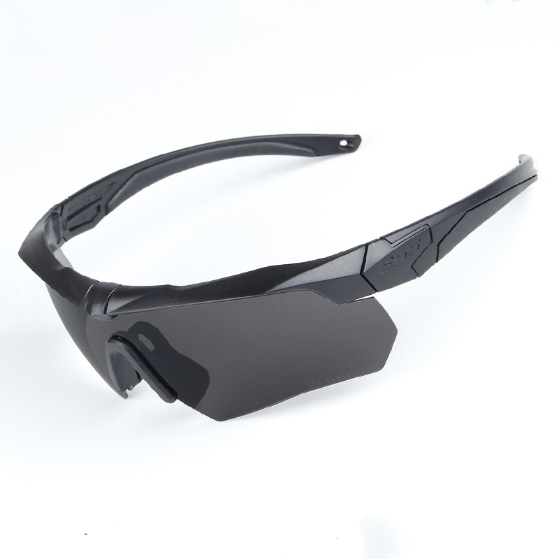 ESS polarizadas Ciclismo Gafas de sol Militar Gafas gafas 3 lente tr90 oculos ciclismo Seguridad Gafas