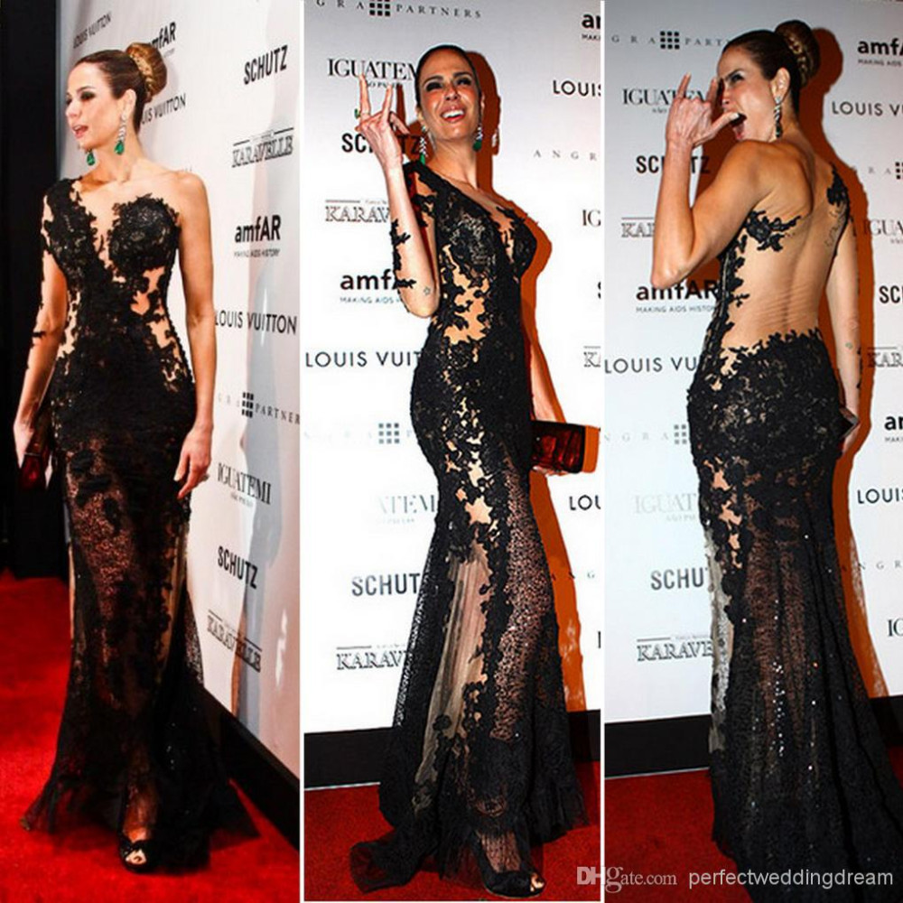 Red Carpet Beaded Celebrity Dresses Reviews - Online ...