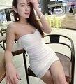 Сексуальная и клуб платье для женщин верхняя труба - цельный платье мода сексуальность женщин 2015 плотно верхняя труба основной тонкие бедра мини-платье JX321