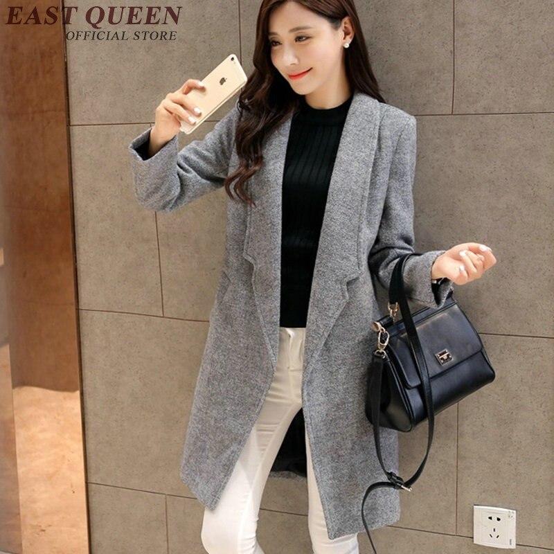 Women trenchcoat 2018 fashion blaser   trench   coat for women winter coat women 2018 KK1609 H