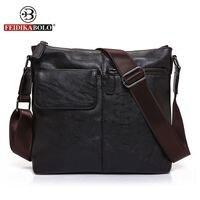 FEIDIKA BOLO Brand Messenger Bag Men Genuine Leather Handbags Men Crossbody Bags Leather Handbags Designer Small