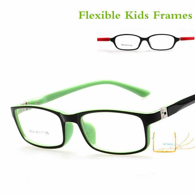33bc026cd6 ... Montura de gafas ópticas para niños y niñas monturas de gafas de miopía  con lentes de ...