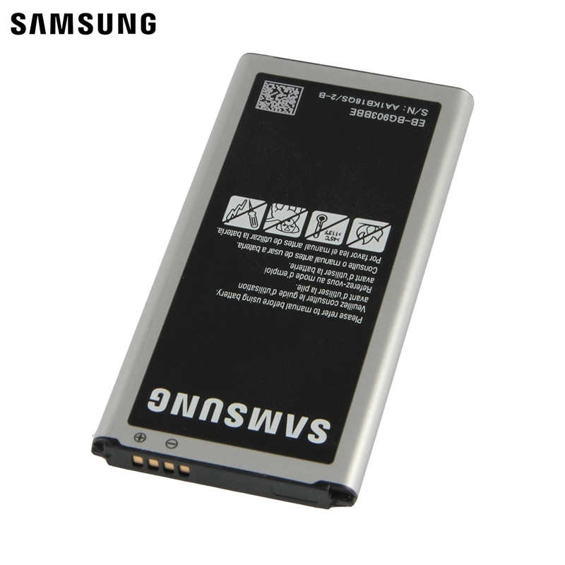 Samsung Original Replacement Battery EB-BG903BBE EB-BG900BBC For Samsung  Galaxy S5 NEO G903F G903W Authentic Battery 2800mAh