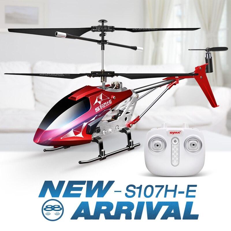 Helicóptero Nueva 3 Hover Syma 5ch Presentes Llegada Helicópteros S107h De Función Rc Con ZPukXi