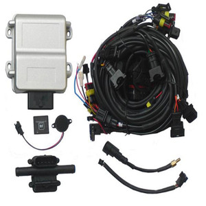 LPG/CNG ECU with Self-adaption Function for 3 or 4 Cylinder Petrol EFI Injected Gasoline Cars