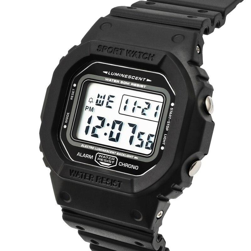 Sports Watch men Clocks male Countdown Watch Alarm Chrono Digital Wristwatches 50M waterproof Relogio Masculno digital watch