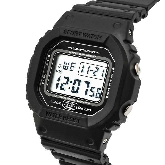 Sports Watch men Clocks male Countdown Watch Alarm Chrono Digital Wristwatches 5