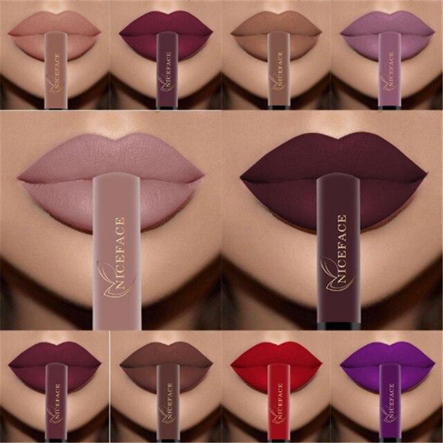 Velvet 30 color liquid lipstick sexy nude color matte liquid lipstick waterproof lasting moisturizing lip gloss cosmetics