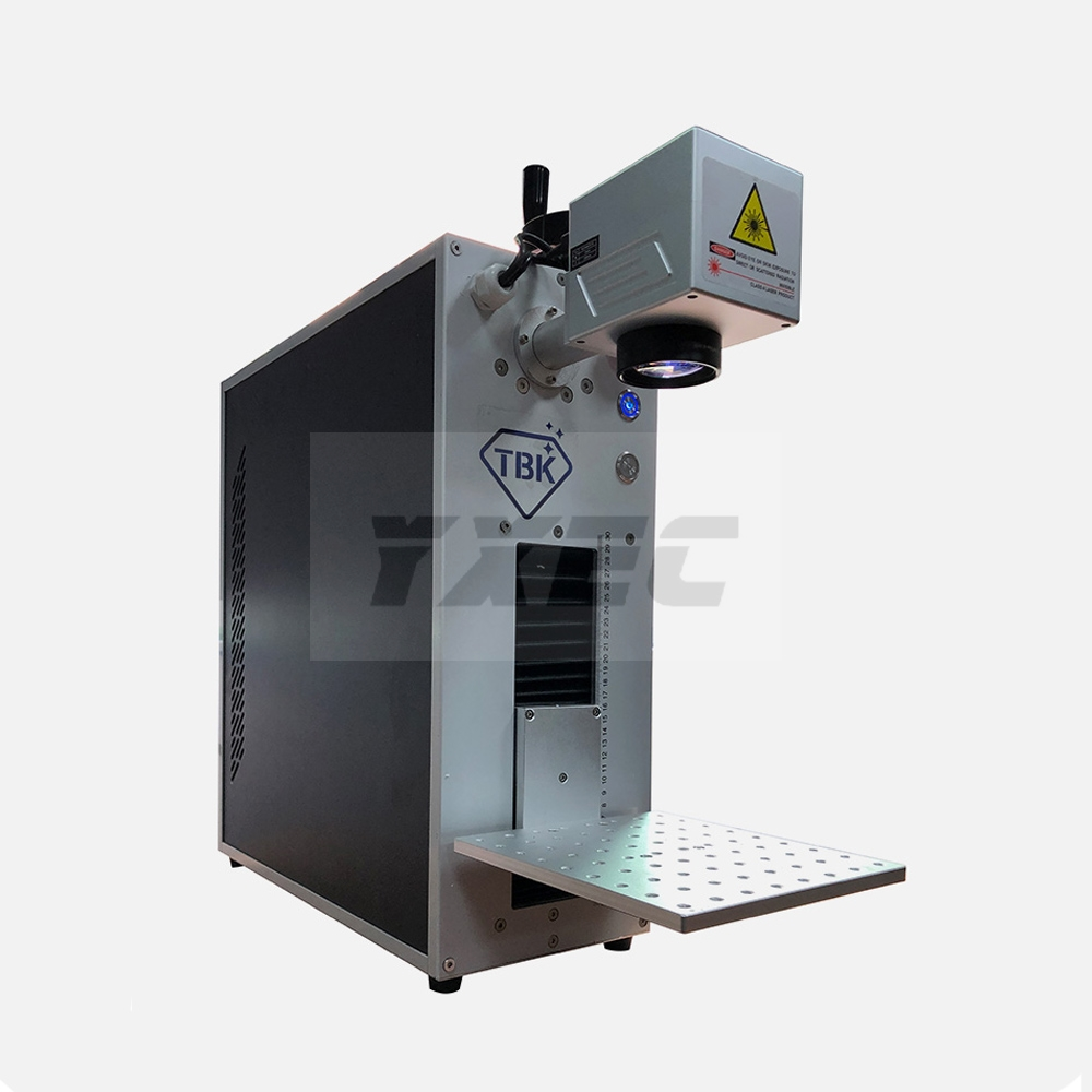 TBK Laser Marking Engraving Machine Separating Machine For IPhoneX XS Max 8 8+ Back Glass Remover LCD Frame Repair