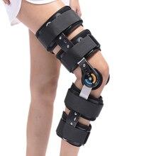 HKJD скобы для колена Ортез поддержка колена медицинские ортопедические устройства ROM шарнирный Регулируемый предотвращает Гиперрасширение