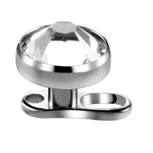 Image 4 - 10pcs/lot Micro Dermal Piercings Set Titanium Dermal Anchor Base & Tops Skinner Diver Dermal Top Base Sexy Body Piercing Jewelry
