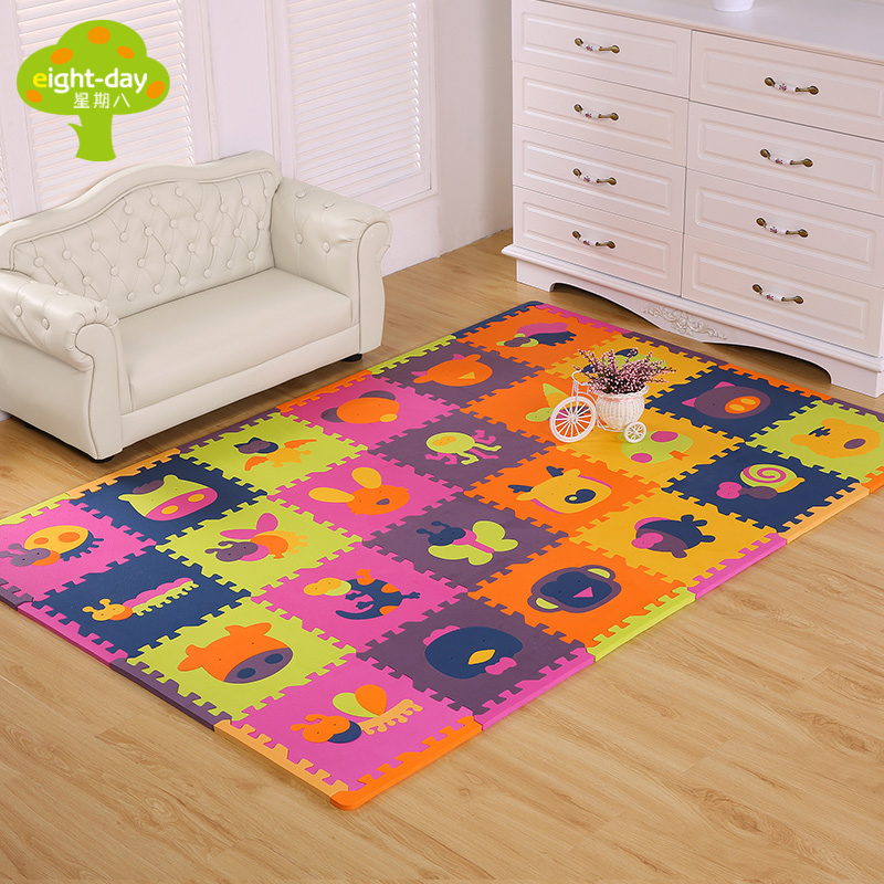 EVA Brand Kids Rugs Foam Children's Mats Baby Playing Soft Crawling Mats Environmental For Children Puzzle Gym Game Blankets