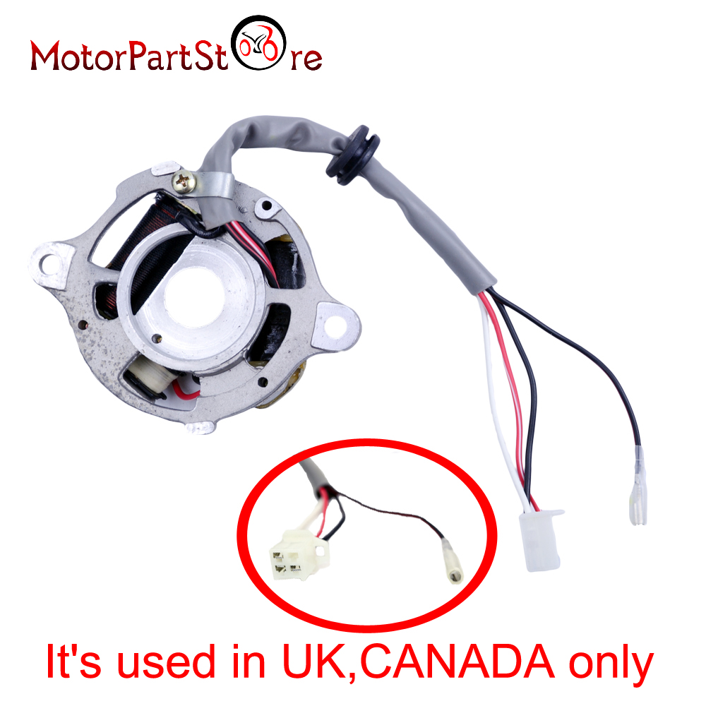 medium resolution of aliexpress com buy motorcycle magneto ignition stator coil for yamaha pw50 peewee pw 50 py50 qt50 dirt pit kid bike atv motocross parts d30 from reliable