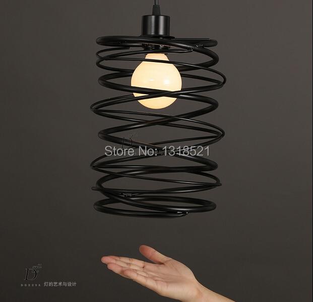 ФОТО Free shipping Creative Brief  edison E27 Bulb Vintage Pendant Lights Bar Club Braided Lamps Decoration  pendant Linghting