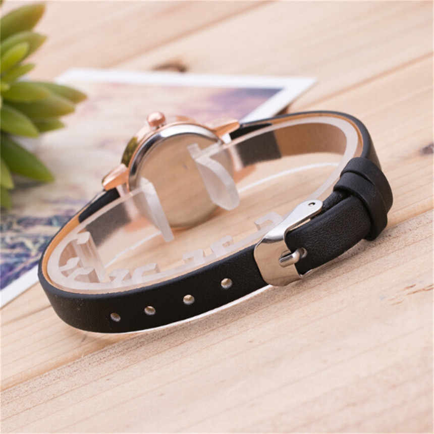 Reloj de pulsera minimalista de moda para mujer, recuerdo de viaje, regalos de cumpleaños, reloj elegante, reloj femenino, regalo con reloj de diamantes D30