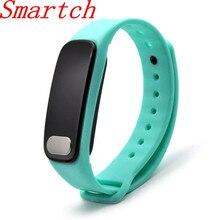 Smartch смарт-браслет R11 ЭКГ ppg сердечного ритма Приборы для измерения артериального давления измерение Калорий, Шагомер Спорт браслет для IOS Android