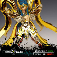 CS Aurora Model Aquarius Camus Saint Seiya EX Soul Of Gold SOG Metal Armor Gold Myth
