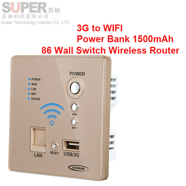 2014 Newest Home And Hotel Use Wall Mount Mini Wireless