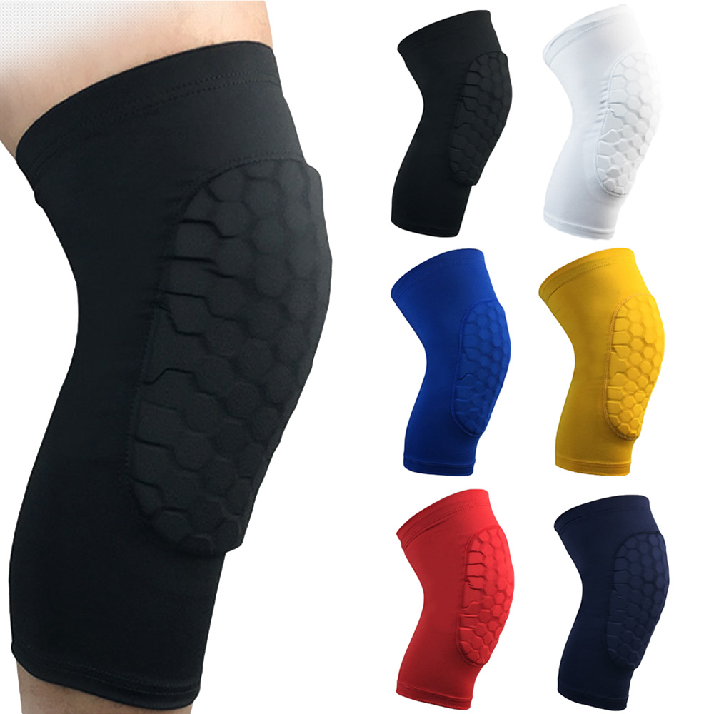 Knee Pad Anti-collision Short Sleeve Leg Support Brace Basketball Running LFSPR0005