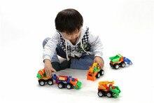 5pc lot Children Whole set Babu Engineering vehicle toys Kids Boys 12 9cm traffic vehicle with