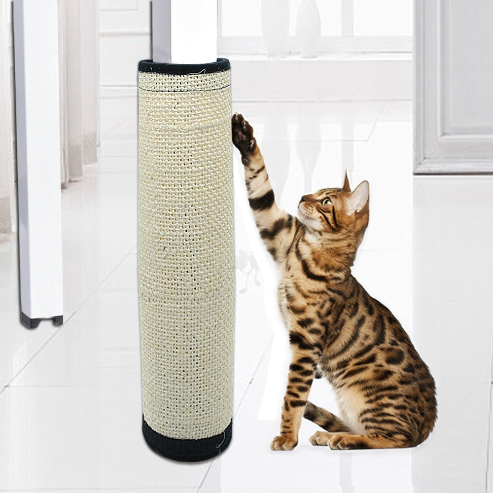 Juguete del tablero del rasguño de gato Sisal cáñamo gato gatito rascador para gatos proteger los muebles moler garras Cat Scratcher juguete estera