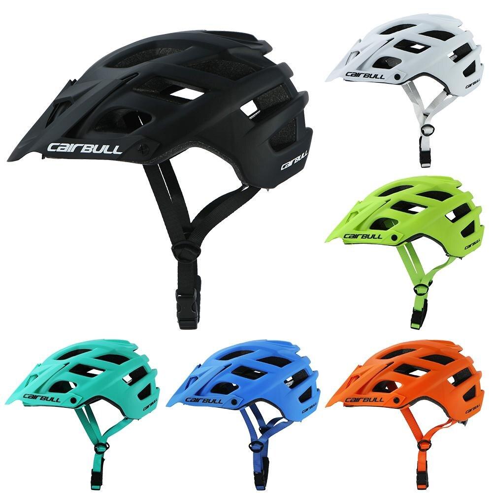 купить CAIRBULL Ultralight Adjustable Visor Road Bicycle Helmet MTB Cycling Bike Helmet Mountain Bike Sports In-mold Helmet по цене 1656.42 рублей