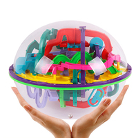 3D Ball Maze Puzzle Labyrinth Magical Intellect Maze Ball Perplexus Ball Intelligence Educational Toys For Children