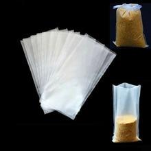 ICERIO 50PCS Water Dissolving PVA Bags Carp Fishing Bait Material Promotion Fishing Tackle 7X15cm 7X10cm 8X12cm