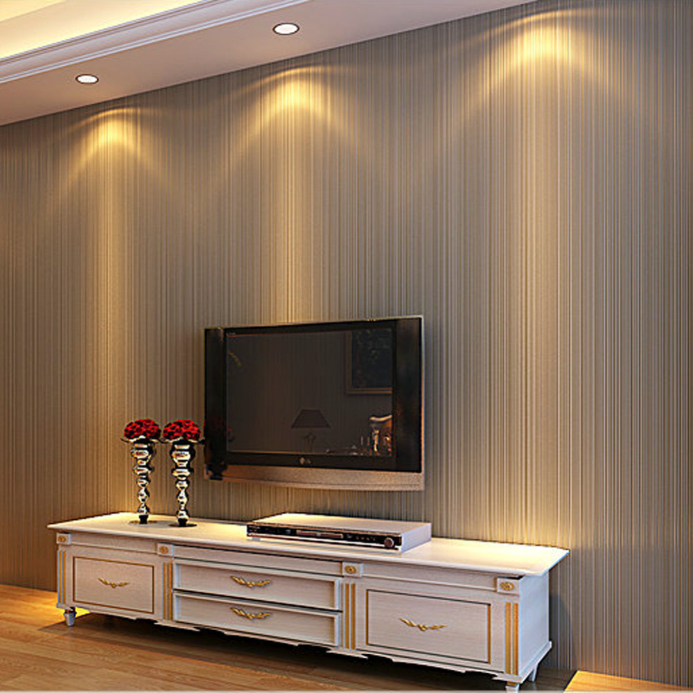 HANMERO Modern 3d solid stripe stereoscopic wallpaper for living room wall paper roll walls 3d murals wallpaper nature QZ0279