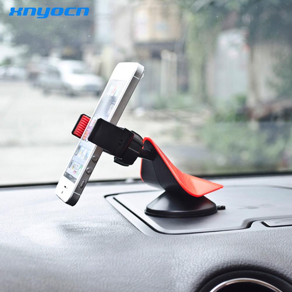 Universal Car Vehicle Phone Holder Bracket Phone Stand Sucker 360 Degree Rotating for Huawei P8 P9 Lite for HTC M7 M8 M9 GPS