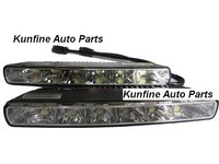 Cheap Shipping 2011NEW E8 Certificated Auto LED Daytime Running Light 18months Warranty