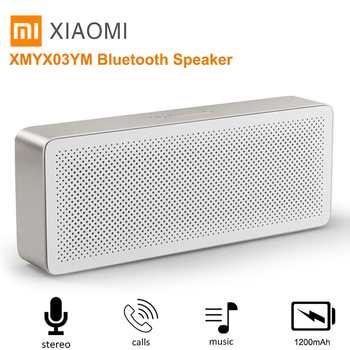 Xiaomi Square Box 2 Probable Speaker Hands-Free Bluetooth 4.2 Loudspeaker Wireless Soundbox 1200mAh Loudspeaker Support AUX MIC