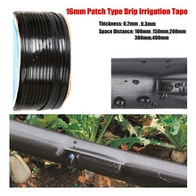 25m 16mm*0.2mm Space 10~40cm Patch Type Rain Irrigation Hose Drip Tape Farm Greenhouse Under Film Micro Drip Irrigation Tape pengelley contraception 16mm film
