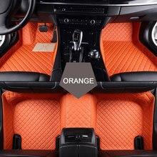 Ajuste personalizado esteras del piso del coche para Renault Scenic Fluence Latitud Koleos Laguna Megane cc Talismán 3D car styling alfombra del piso liner