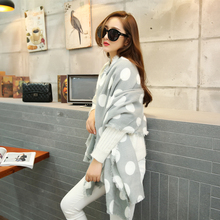 Large Size Winter Warm Cotton Women Long Scarf New Designer Style Fashion Shawls Women s Cashmere