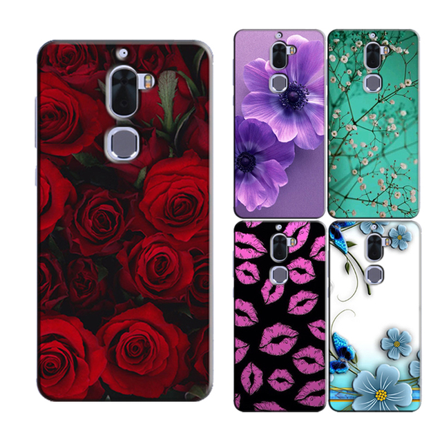 the latest 600df 0e824 US $3.68 26% OFF|for Letv Leeco Cool 1 Dual Leeco Coolpad Cool1 Original  Phone Case Printed Back Cover Shell Bag Painting Skin Flower Coque Capa-in  ...