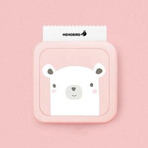 Image 2 - Bluetooth máy in xách tay của nhãn sticker 58mm máy in ảnh nhiệt mini máy in nhiệt cho android điện thoại di động