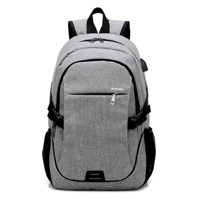 fc7ae328ca Oxford women s laptop backpack men school backpacks for teenage girls  travel backpack female Designer Backpacks Male Escolar