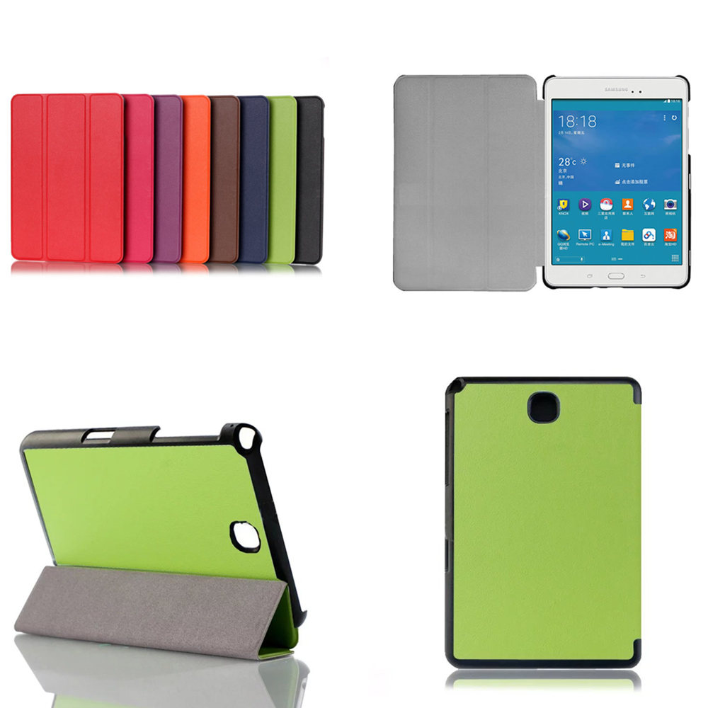 Fashion Business PU Leather Stand Case For Samsung Galaxy Tab A 8.0  SM T350 P350 P355 T355C T355 8.0 inch Tablet Cover print pu leather case cover for samsung galaxy tab a 8 0 t350 t351 sm t355 tablet cases for samsung t355 p355c p350 8 inch