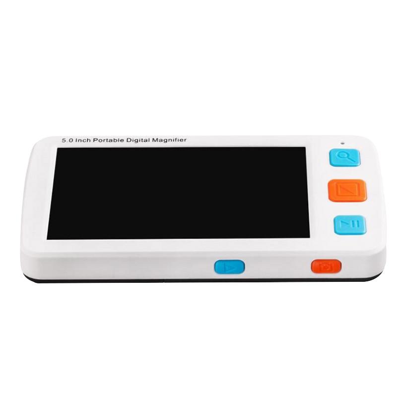 5 pouces Modes Lcd basse Vision Portable numérique loupe Microscope Portable électronique aides visuelles pour l'aide à la lecture (ue Plu