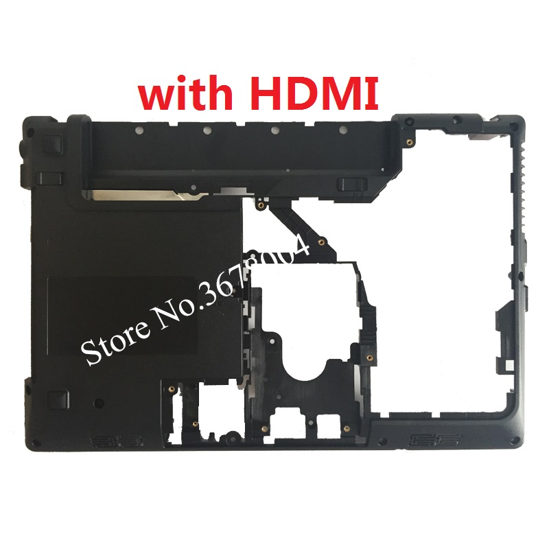 NEW For Lenovo Ideapad G470 G475 G475G G470D G475GX G475GL G470AX Laptop Bottom Base Case Cover With HDMI