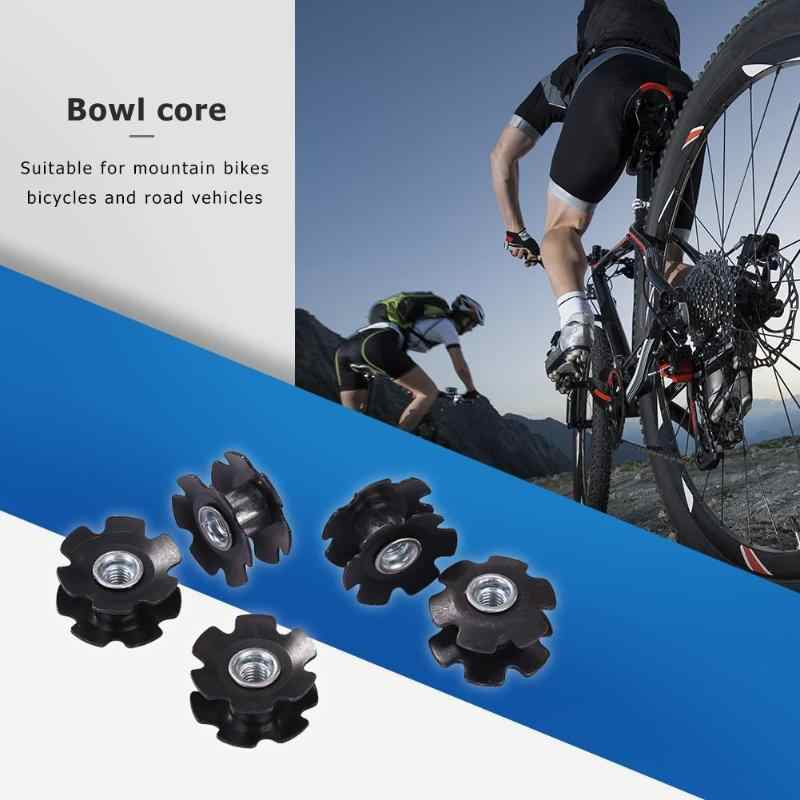 5 قطعة دراجة الكربون الألياف عباد الشمس النواة الجبهة شوكة المسمار الصلب عاء الأساسية مجموعات ل MTB دراجة في الهواء الطلق اكسسوارات الدراجات