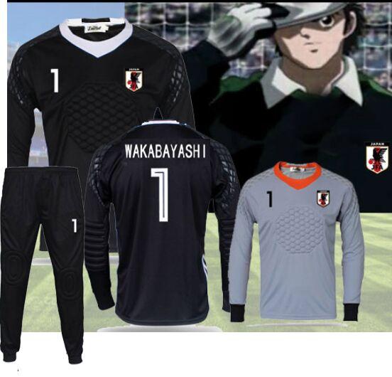 Camisetas Captain Tsubasa Football Soccer Jerseys,oliver Atom Maillots De Foot Goalkeeper Wakabayashi Aton Cosplay Uniform