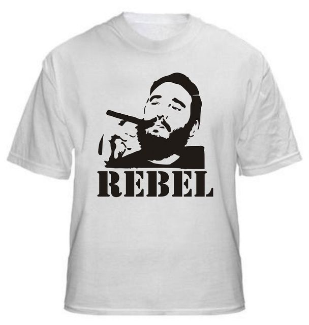 Fidel Castro Rebel T Shirt Various Colours Cuba Political All 3D Printed  Men s Tee Shirts High 957d2be70
