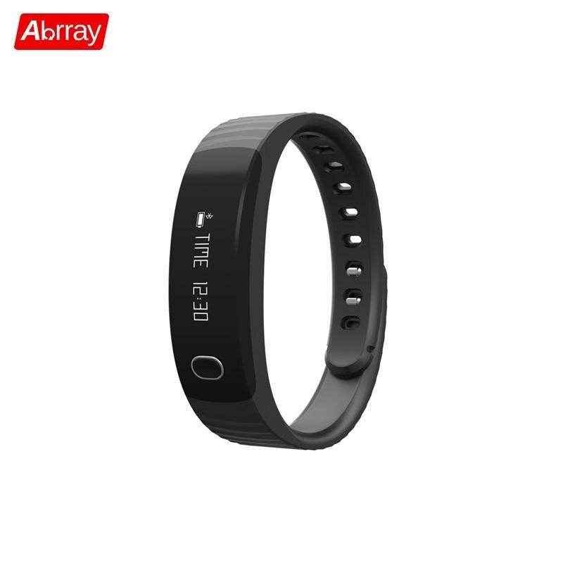 Abrray Bluetooth Smart Wristband Sport Bracelet Watch For Men Women Sleep Monitoring Pedometer Healthy Athlete Digital Accessory стоимость