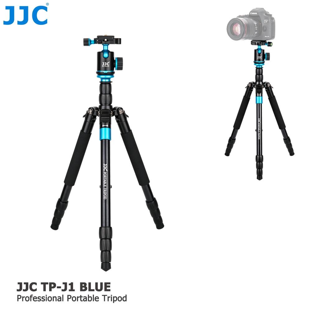 JJC Professional Camera holder mini Tripod DSLR Flexible Stand Ball Head Portable Monopod for Canon/Nikon/Sony/Fujifilm/Olympus jjc lh 60c t diy 58mm abs lens hood for canon ew 60c dslr camera black