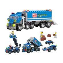 Любимые! самосвал частицы монтажные транспорт мелкие brinquedos строительные блоки образовательные diy